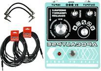 Death by Audio Apocalypse Fuzz w/ 4 Cables