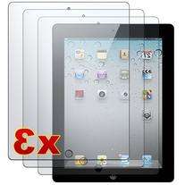 Apple iPad 2 - 3 Premium Clear LCD Screen Protector Cover