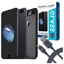 Tech Armor Apple iPhone 7 Plus  Protection Bundle - Glass