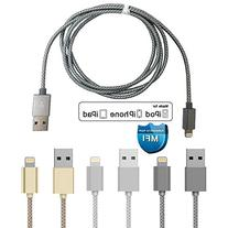 Apple MFi Certified Sync/Charge 1 Meter Cable For iPhone 6s