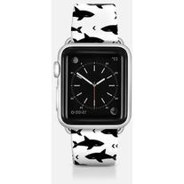 Apple Watch Band - Shark attack apple watch band black and