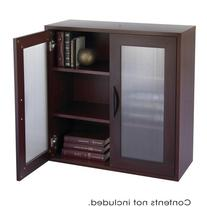 Safco Apres Modular Storage Organizer 2 Door Cabinet