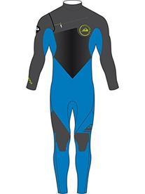 Quiksilver Boys Syncro Gbs 4/3Mm - Chest Zip Wetsuit Wetsuit