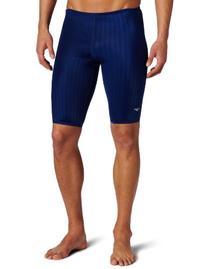 Speedo Men's Aquablade Jammer Swimsuit, Navy, 30