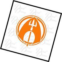 Aquaman logo SMALL Vinyl Decal | DC Comics Justice League