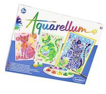 SentoSphere Aquarellum - Cats Magic Art Canvases
