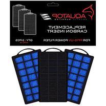 Aquatop Aquarium Carbon Cartridge for PF15-UV Hang On UV