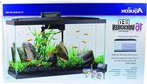 Aqueon LED Aquarium Kit with Screen, 16 gallon