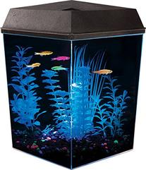 AquaView 2.5-Gallon Fish Tank with LED Lighting and Power Filter