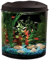 AquaView 3.5-Gallon Fish Tank with Power Filter and LED