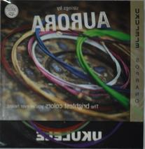 Aquila Colored Soprano Ukulele string by Aurora - Multi-