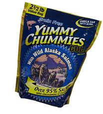 Arctic Paws Yummy Chummies Dog Treats 2.5Lbs, 40 Oz Wild