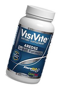 VisiVite AREDS 2 Select Eye Vitamin Formula - 60 Capsules
