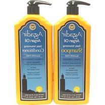 Agadir Argan Oil Daily Moisturizing Shampoo and Conditioner