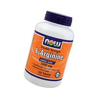 Now Foods L-Arginine 1000 mg - 120 Tabs 6 Pack