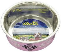 Loving Pets Argyle Bella Bowl for Pets, Small, Pink