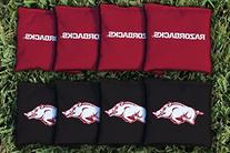 Arkansas Razorbacks Replacement Cornhole Bag Set
