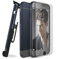 Encased ArmorSHIELD Case and Clip for iPhone 6 - Blue/Gray