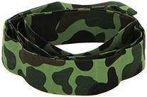 Smiffy's Men's Army Headband Camouflage 150Cm X 4Cm, Multi,