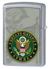 Zippo Army Seal Lighter, Street Chrome