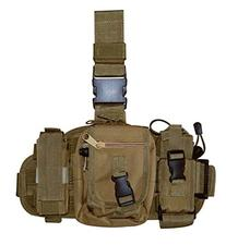 Army Tan Tactical Molle Drop Leg Mag Medic Utility Pouch