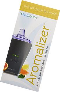 SpaRoom Aromalizer Microair Therapy Diffuser, Gray, 0.75