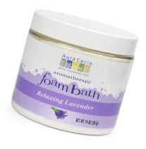 Aura Cacia Aromatherapy Foam Bath, Relaxing Lavender, 14