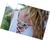 Premium Aromatherapy Essential Oil Diffuser Necklace -