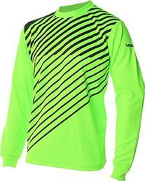 Vizari 60042 Arroyo Goalkeeper Jersey, Neon Green/Black,