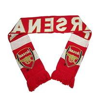 Arsenal Fc Scarf Soccer Reversible Official Product New!