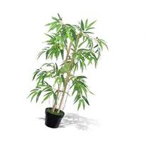 vidaXL Artificial Bamboo Plant Twiggy with Pot 35