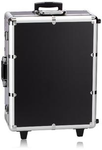 NYX Makeup Artist Train Case with Lights, Extra Large Black/