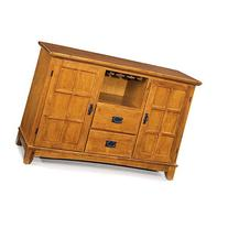 Home Styles Arts & Crafts Buffet, Cottage Oak