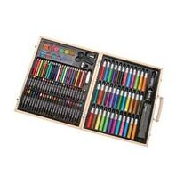 ArtyFacts Deluxe Art Set in Wooden Case