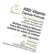 ASD Vitamin Capsule for Children with Autism Spectrum