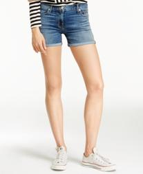 Hudson Jeans Asha Coalition Wash Denim Shorts
