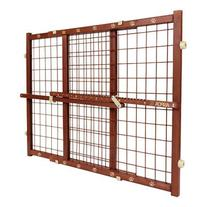 Evenflo ASPCA Wired Position and Lock Gate, Colonial Maple,