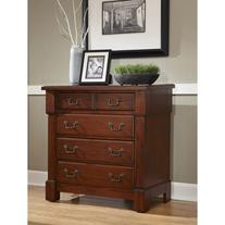Home Styles The Aspen Collection Drawer Chest, Rustic Cherry