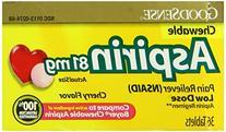 Good Sense Aspirin Low Dose 81 mg 36 Chwbls
