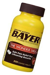 Genuine Bayer Aspirin  Pain Reliever and Fever Reducer 325mg