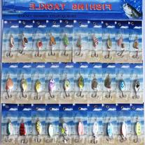 NEW 30x New PACKAGE Assorted Metal SpinnerBaits Fishing