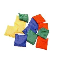 """Dazzling Toys 5"""" Assorted Nylon Reinforced Bean Bags - Pack"""