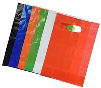 Assorted Colored Plastic Bags  by Fun Express