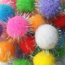 Rimobul Assorted Color Sparkle Balls My Cat's All Time