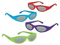 Amscan Assorted Sporty Summer Sunglasses Costume Party