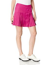Callaway Women's 17-Inch Asymmetrical Pleated Skort, Wild