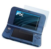 atFoliX Nintendo New 3DS XL  Screen protection Protective film - Set of 3 - FX-Clear crystal clear