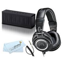 Audio-Technica ATH-M50x Studio Monitor Headphones and