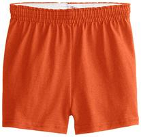 Soffe Youth Girls' Authentic Soffe Shorts, Orange, Medium