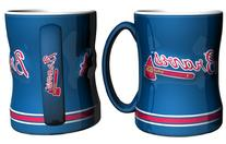 Atlanta Braves Sculpted Coffee Mug